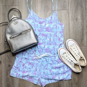 Tie Dye Romper by Xhileration